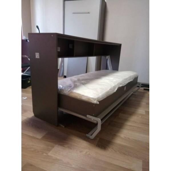 Комплект шкаф-кровать Smart 508 Г горизонтальный 180/190/200 см Via Ferrata  VAMNADO