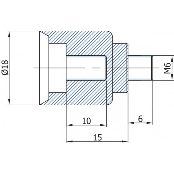 Проставка, накрутка на газлифты, амортизаторы TGS MJ21 - 15 мм TGS Tunalift VAMNADO