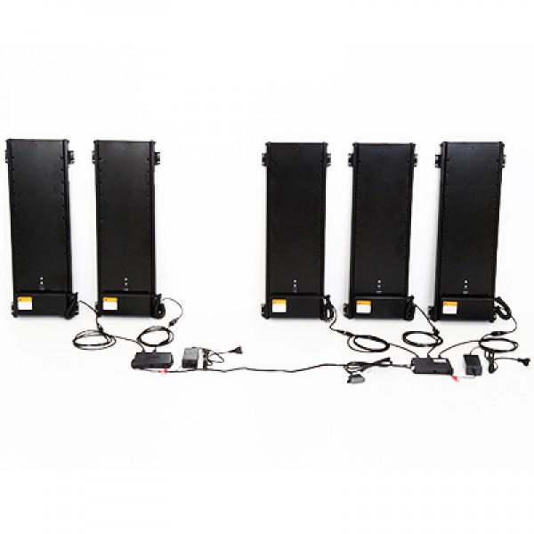 Лифт моторизованный для линейной видеостены 2х1 VENSET TS 700Cх2 VenSet VAMNADO