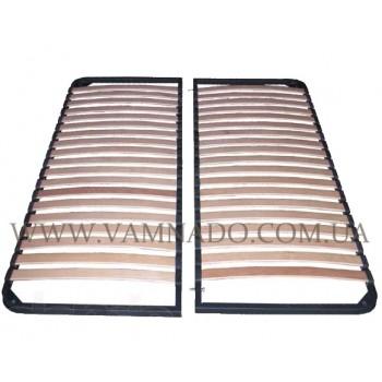 Двуспальный каркас кровати ортопедический вкладной разборной (без ножек)