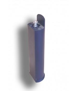 Ножка пластиковая круглая PERGA (Франция) H 320 к основанию Летто