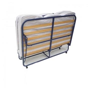 Двуспальная раскладушка с матрасом зима-лето LUXOR DOUBLE LUX 180*200