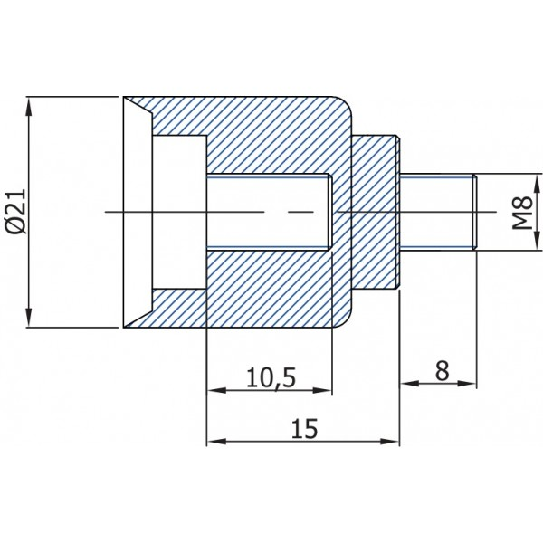 Проставка, накрутка на газлифты, амортизаторы TGS MJ18 - 15 мм TGS Tunalift VAMNADO
