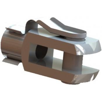 Наконечник клипса (вилка) для газлифта/газовой пружины металлический М8
