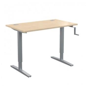 Столы с механической регулировкой высоты