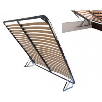 Двуспальный каркас кровати вкладной с подъемным механизмом (с фиксатором)