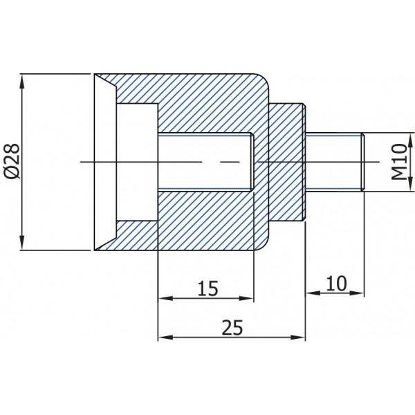 Проставка, накрутка на газлифты, амортизаторы TGS MJ15 - 15 мм TGS Tunalift VAMNADO
