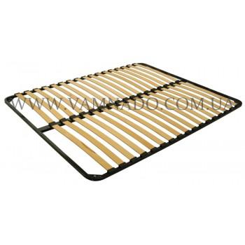 Двуспальный каркас кровати ортопедический вкладной (без ножек)