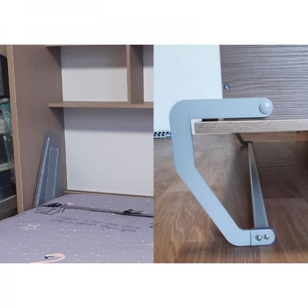 Комплект шкаф-кровать Smart 508 B вертикальный 80/190/200 см Via Ferrata  VAMNADO