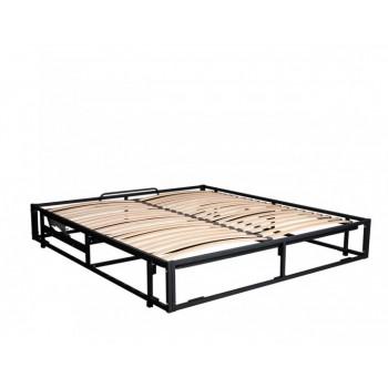 Двуспальный каркас кровати вкладной с подъемным механизмом и основанием (без фиксатора)