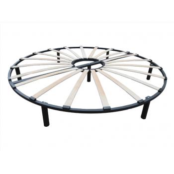 Ортопедический двухконтурный каркас для круглой кровати