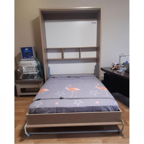 Комплект шкаф-кровать Smart 508 B вертикальный 100/190/200 см Via Ferrata  VAMNADO