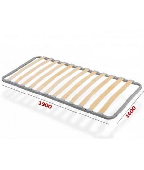 Ортопедическое основание кровати 1600*1900/2000 Летто де Люкс
