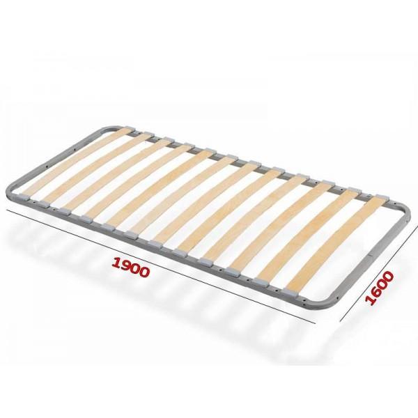 Ортопедическое основание кровати 1600*1900/2000 Летто де Люкс Via Ferrata  VAMNADO