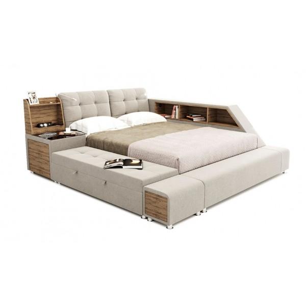 VAMNADO Кровать модульная Атланта Green Sofa GreenSofa