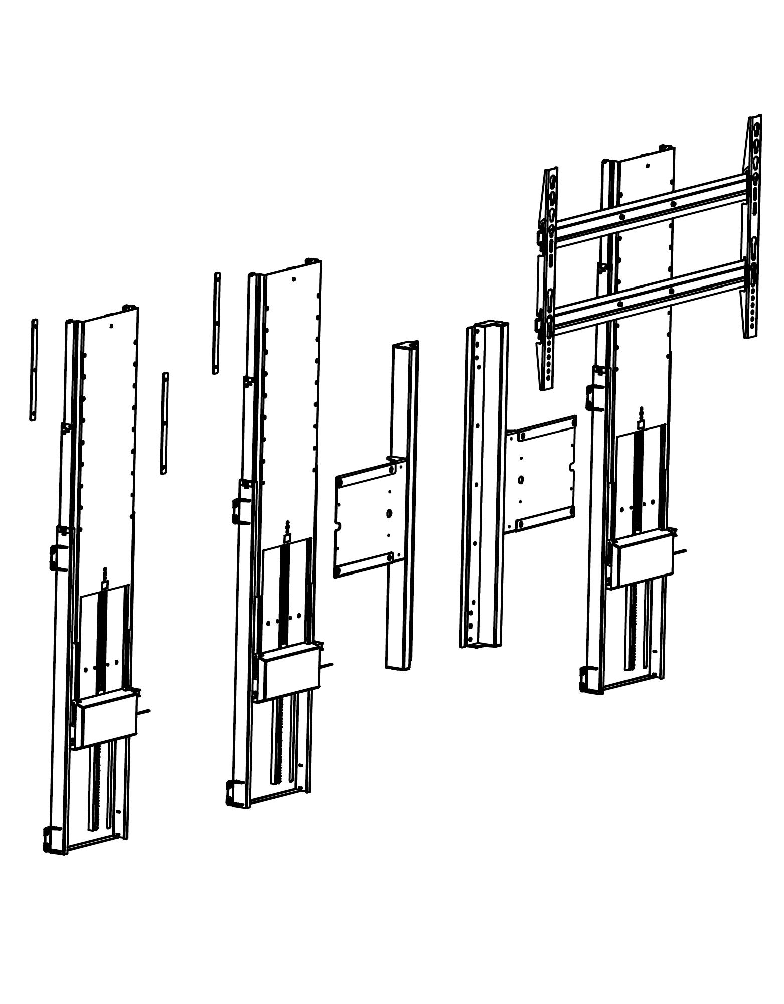 Купить Моторизированный мебельный TV -лифт VENSET TL- 2000C Дания, vamnado украина, киев