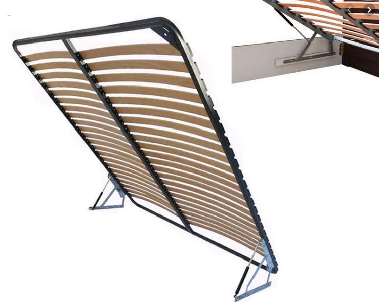 Двуспальный каркас кровати вкладной с подъемным механизмом vamnado