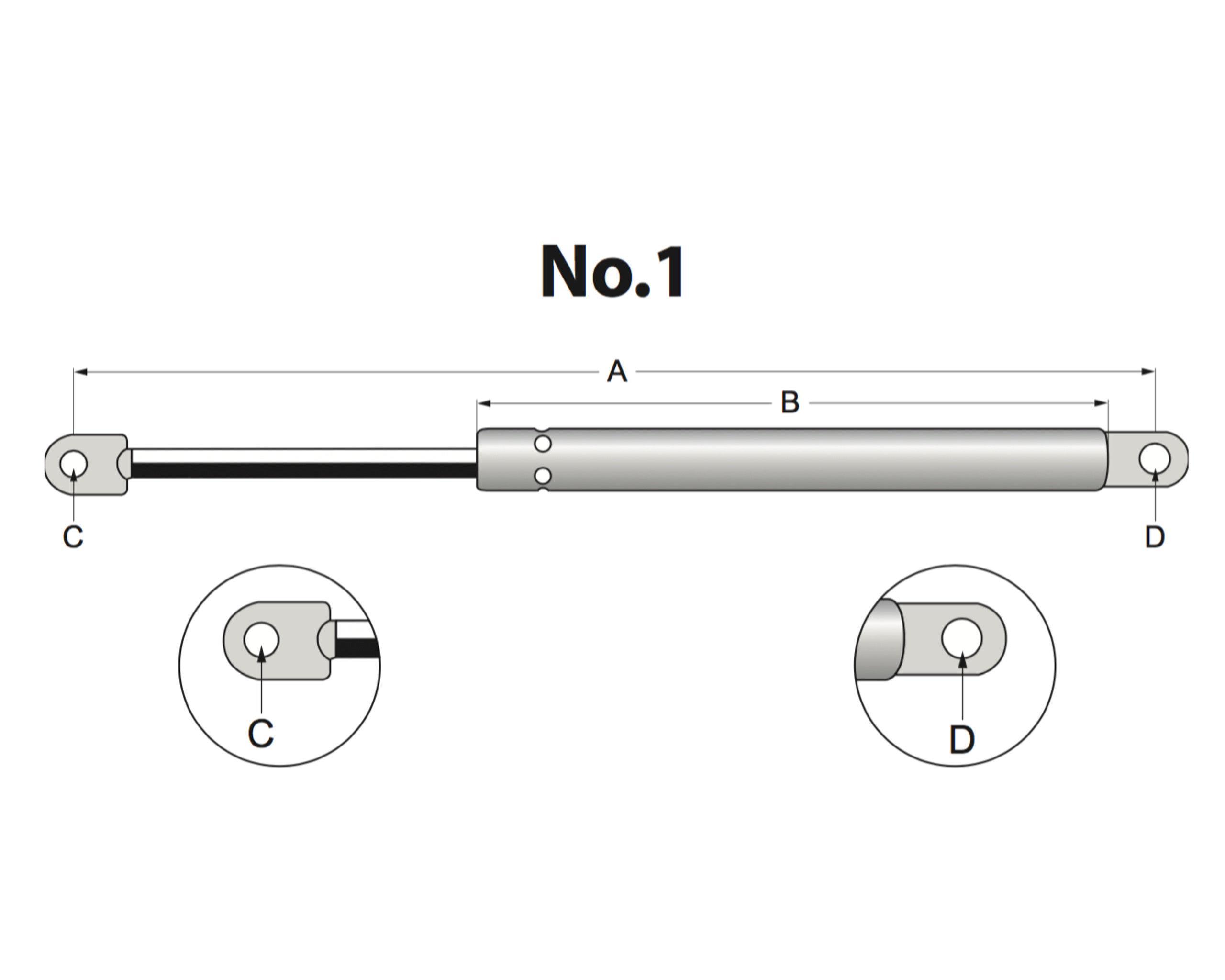 Газлифт газовая пружина амортизатор для окон витрин стекла vamnado