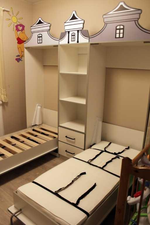 механизм шкаф-кровать с газлифтами купить украина, киев vamnado